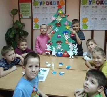 «Новогоднее оригами»