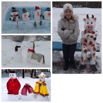 Снежные чудеса!